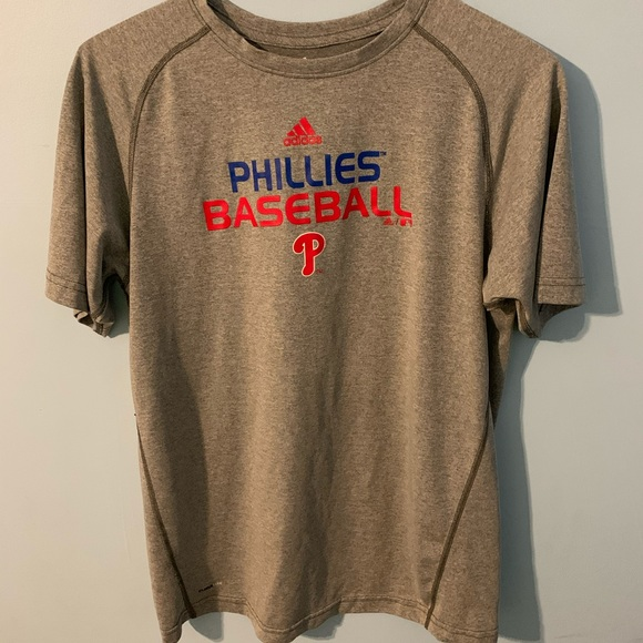 adidas Other - Phillies Baseball Adidas T-Shirt Gray Size Men XL